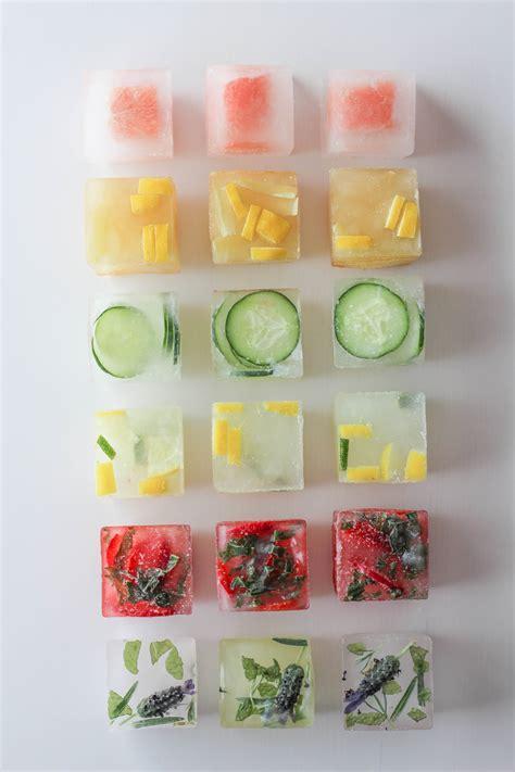 Unique Fruit Bowl flavored ice cubes let s mingle blog