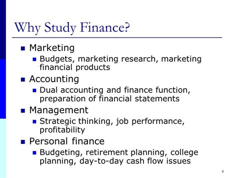 Why You Studying Mba Managemnt Questions by Introduction To Financial Management Ppt