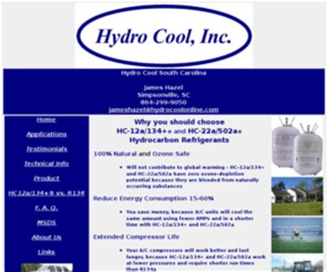 awesome technologies inc hydrocoolonline com hydro cool inc hydrocarbon