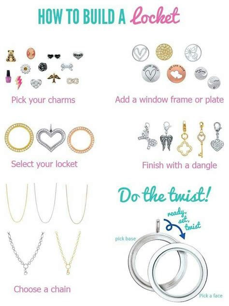 How To Order Origami Owl - origami owl how to build a locket tell your story with