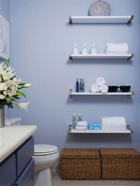 Bathrooms Shelves 33 Clever Stylish Bathroom Storage Ideas
