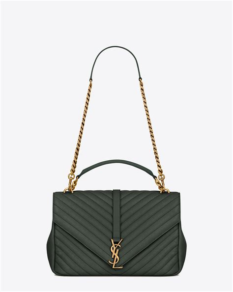 saint laurent classic large monogram saint laurent college