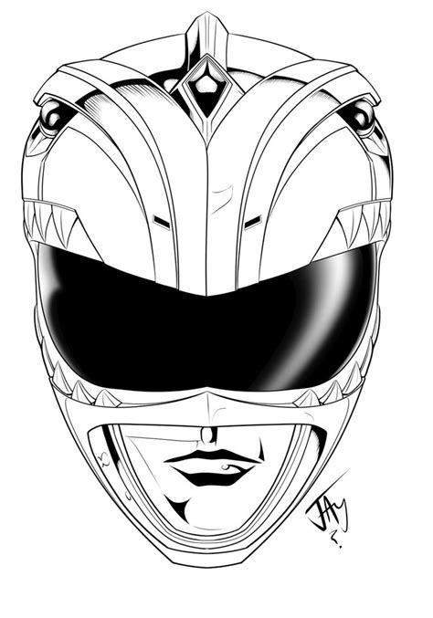 power rangers helmet coloring pages green ranger helmet by jayodjick on deviantart