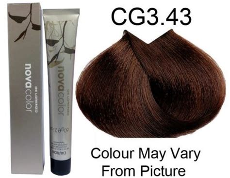 lorenzo brown hair color de lorenzo permanent colour cg3 43 medium copper gold