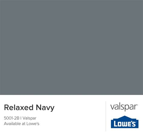 relaxed color relaxed navy from valspar for the home pinterest