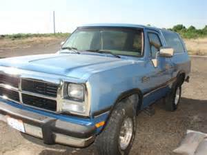 1991 Dodge Ramcharger For Sale 1991 Dodge Ramcharger Le 4x4 For Sale In Ft Mccoy