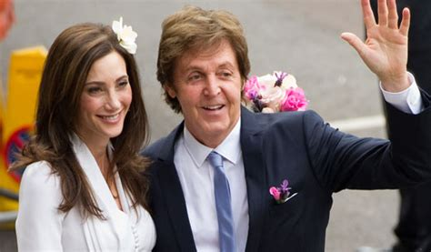Was Paul Mccartney With Nancy Shevell by Elchocomil