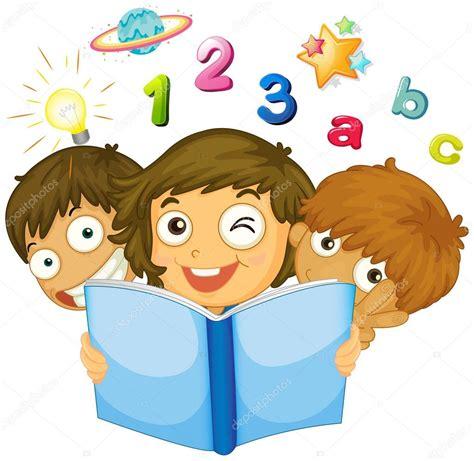 imagenes de niños trabajando matematicas ni 241 os leyendo libro de matem 225 ticas archivo im 225 genes