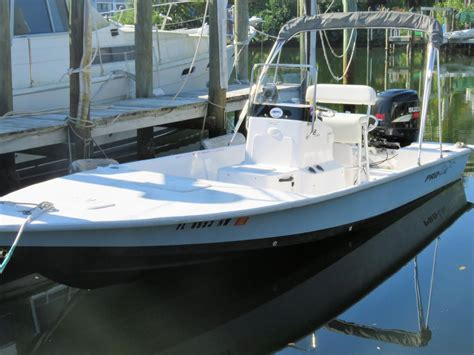 pro line center console boats for sale 2009 used pro line 22 flats xl center console fishing boat
