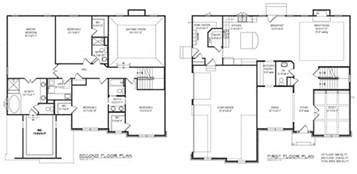 House Floor Plan Layouts floor plan with fancy closet layout in first and second floor plan