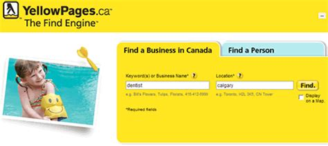 Www Yellowpages Ca Lookup Yellow Pages Goes Social