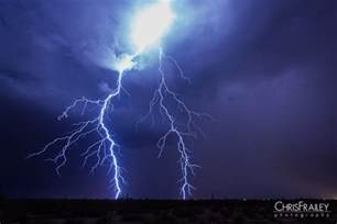 Lightning Strike Image Lightning Strikes In The Arizona Desert