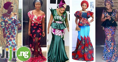 ankara new gown style latest ankara long gown styles 2017 jiji ng blog