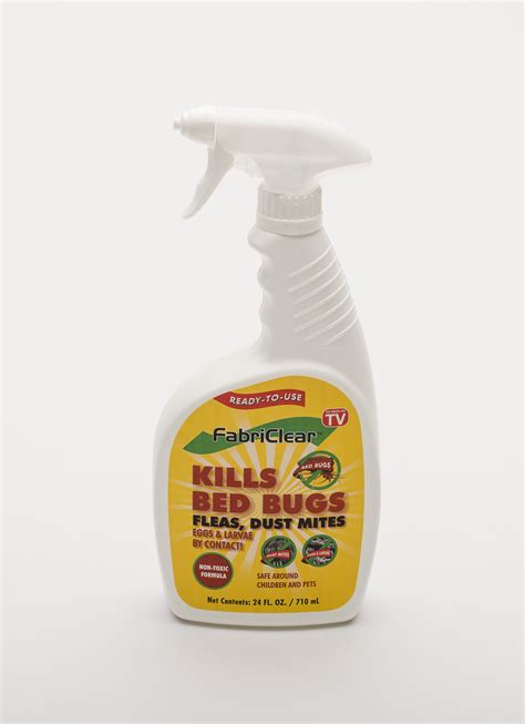 fabriclear bed bug fabriclear non toxic bed bug dust mite flea killer spray