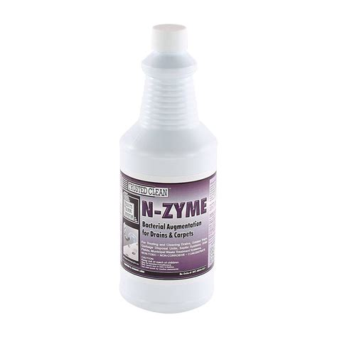 trusted clean  zyme enzyme bacterial augmentation cleaner  quarts