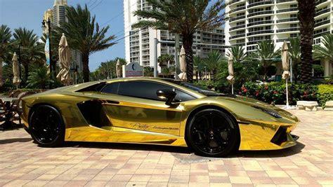 Lamborghini Or Des Supercars En Or Cet 233 T 233 224 232 Ve