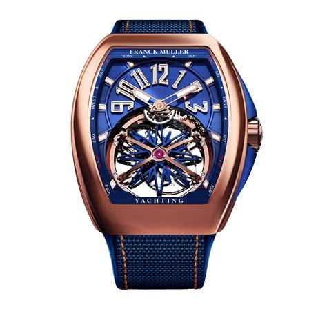 Frank Muller franck muller vanguard yachting gravity tourbillon timepiece