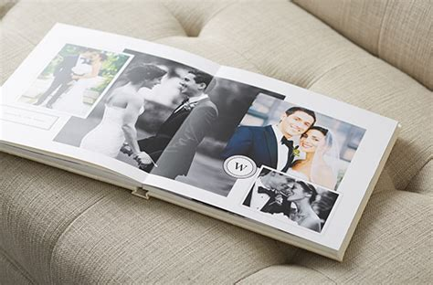 20 pages photo album template 12x15 modern and minimalist style