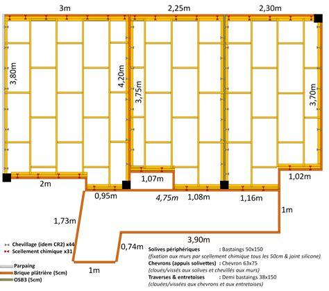 Brique Platriere Isolation Phonique by Faux Plafond Et Solivage Bois Sur Cloison Brique Platri 232 Re