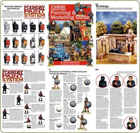 miniature painting guide foundry reprint miniature painting guide tabletop gaming