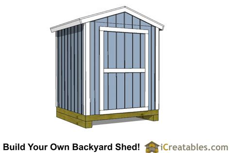 6x8 Shed Plans Free by Backyard Shed Plans Backyard Storage And Shed Plans