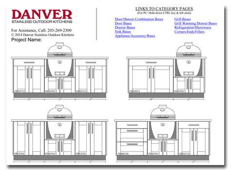 design   outdoor kitchen  danver