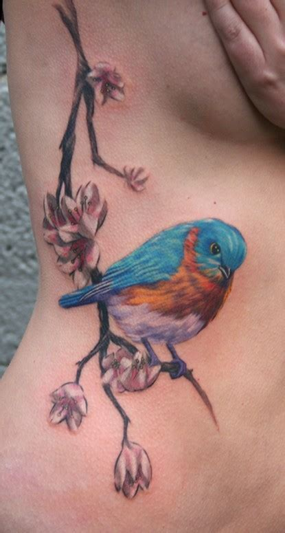 blue bird tattoo bird design gallery meaning ideas