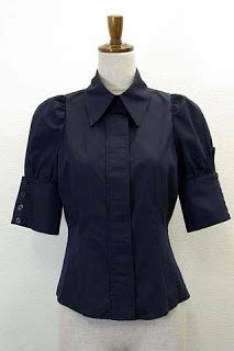 Blouse Black Isn In The Clouds August 2011