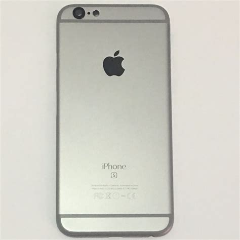 carca 231 a traseira iphone 6s 4 7 apple original space gray r 58 00 em mercado livre