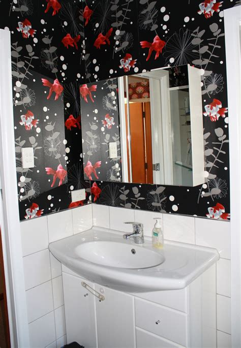 wallpaper designs for bathrooms bathroom wallpaper the inside s