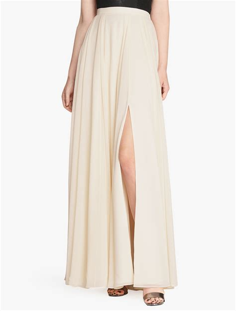 lyst flowy maxi skirt in