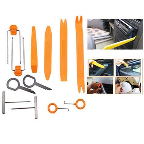 מוצר 12pcs Set Professional Vehicle Dash Trim Tool Car get cheap plastic trim tools aliexpress