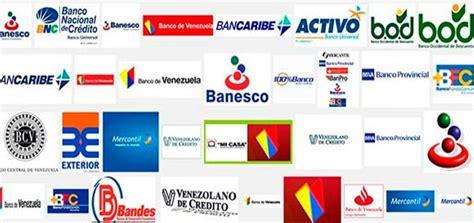 bancos de venezuela rese 241 a de los bancos en venezuela economia ve