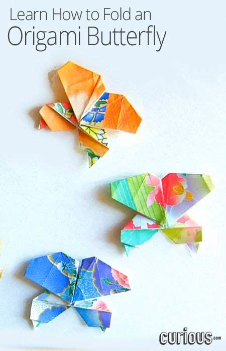 How To Fold Paper Butterfly - 169 best paper crafts origami origamitree