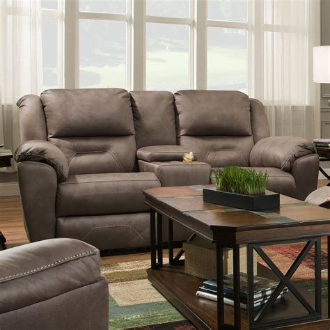 double reclining console sofa southern motion pandora 751 78p double reclining console