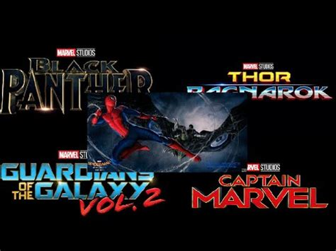 marvel film new releases marvel releases new movie logos casting news and footage