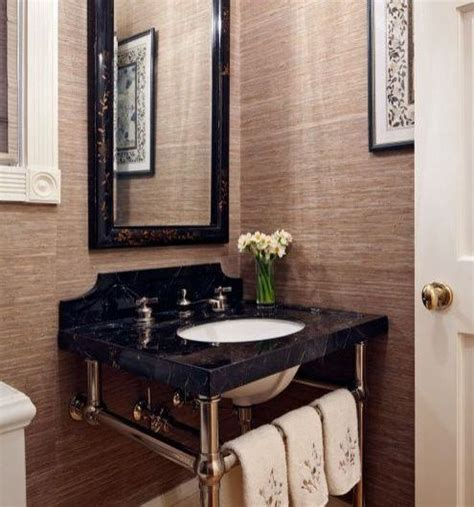 pedestal sink with backsplash bathroom cocodsgn
