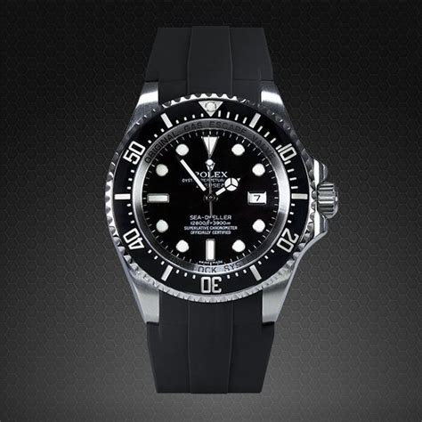 Rubber B For Rolex Submariner introducing the rubber b rolex deepsea glidelock