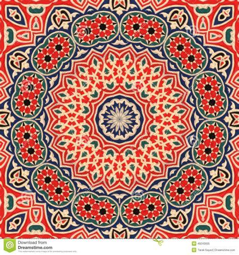 art pattern maker seamless khayameya pattern design 003 stock photo image