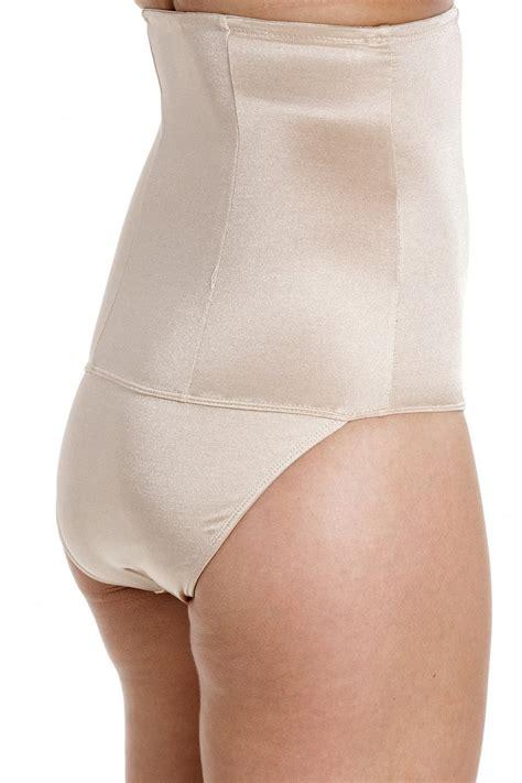 Womens High Waist Slimming Pantieskorset new womens camille beige high waist briefs slimming
