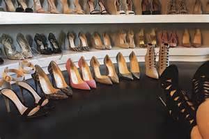 Jenner Shoe Closet by Shop Jenner S Shoe Closet Photos Footwear News