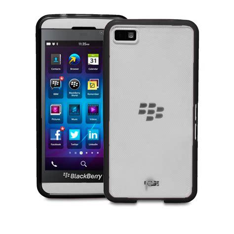 Tulang Frame Blackberry Z10 Bb Z10 blackberry z10 black clear hybrid pc tpu frame