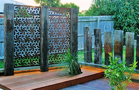 Garden Screen by Outdoor Privacy Garden Screens By Be Metal Be