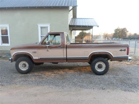 1986 Ford F 250 Xlt Lariat 4x4 460v8 Long Bed Needs Some