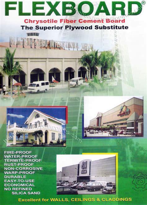 FlexBoard Chrysotile Fiber Cement Board Philippines
