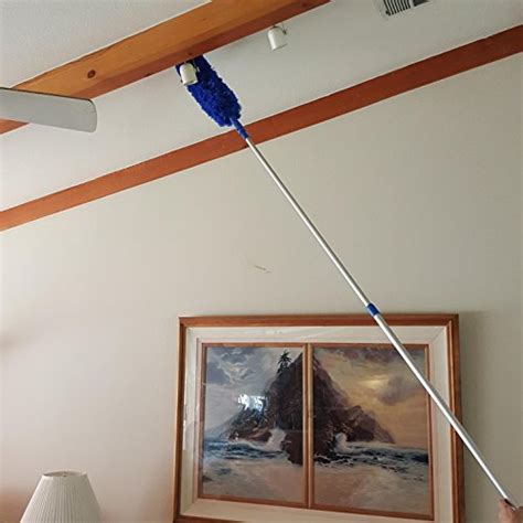 Extension Rod Blue Extension Duster Extend 18 20 Feet High Ceiling Cleaning