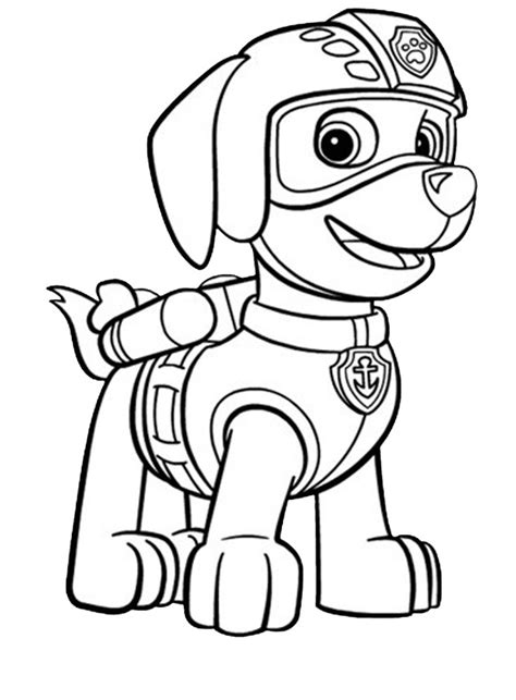 Paw Patrol Coloring Pages For Toddlers | paw patrol coloring pages best coloring pages for kids