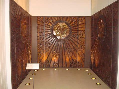 cabinet de curiosité contemporain 966 selfridges lift compartment 1927 8 edgar brandt