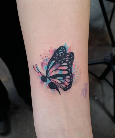 colon tattoo meaning watercolor semicolon butterfly next