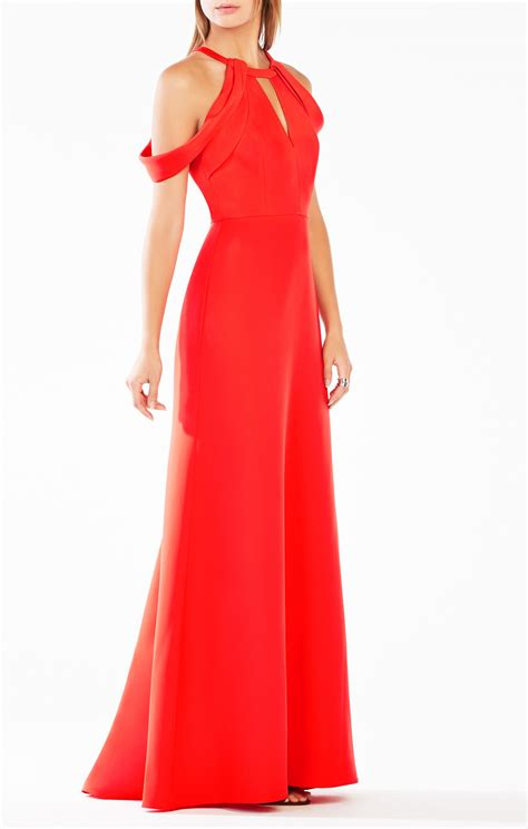 draped gowns kathya draped cutout gown